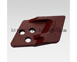 Ground engineering machinery parts 2713Y6051L/2713Y6051R Side Cutter for Daewoo DH55 excavator